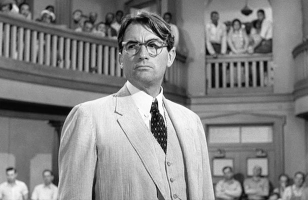 Atticus Finch - To Kill A Mockingbird          Source: