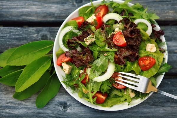 Fresh salads are best.
